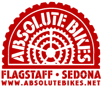 Absolute Bikes, Sedona, Arizona, Bike shop, bike rentals, riding maps and information, ridespots.com, ridespots