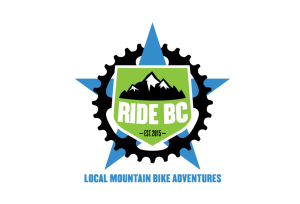 RideBC Logo on RideSpots.com ridespots guided mountain bike rides in Squamish, BC Ride Squamish like a local