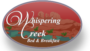 Whispering Creek Bed and Breakfast Sedona Arizona mountain bike friendly accomodation
