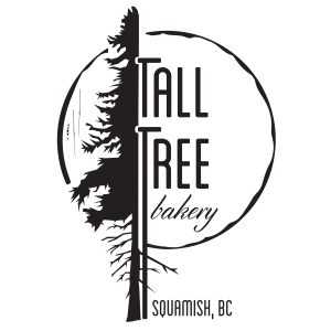 Tall Tree Bakery Squamish, BC Baked Goods, Sandwiches, Coffee, drinks and snacks.
